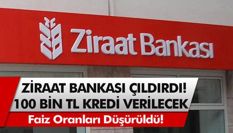 Ziraat bankasından kredi Çekme kampanyası