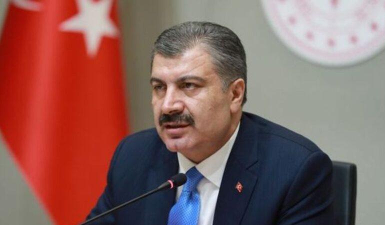 Türkiye'de son 24 saatte 5.532 kişiye Kovid-19 hastalık tanısı konuldu
